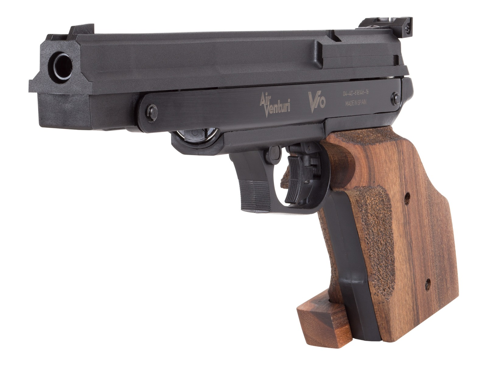 airgun from trigger to target