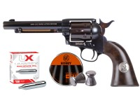 John Wayne Colt CO2 Pellet Revolver, Blued