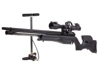 Air Arms S510 XS Ultimate Sporter, Black Soft Touch Pump Kit