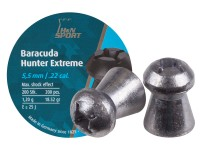 H&N Baracuda Hunter Extreme Pellets, .22 Cal, 18.52 Grains, Hollowpoint, 200ct