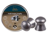 H&N Field Target Trophy .25 Cal, 20.06 Grains, Domed, 200ct