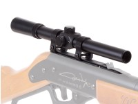 4x15 Rifle Scope & Lasso Mount