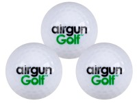 Airgun Golf Exploding Golf Ball, 3ct